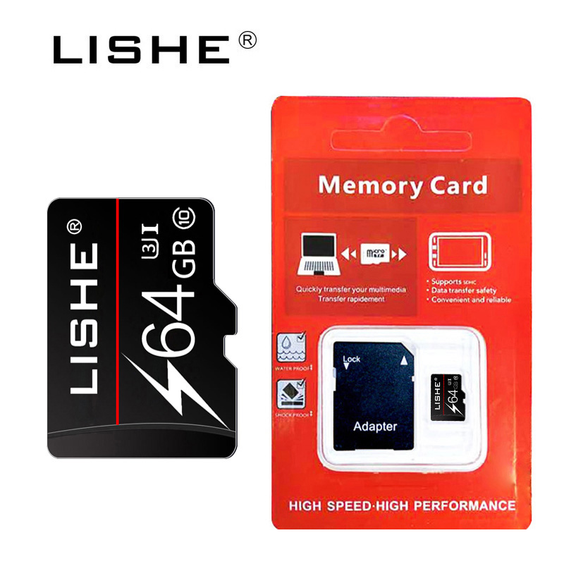 Class10 Sd Card 32GB 16GB 8GB Cartão De Memoria Memory Sd Card 128GB 64GB Micro Card 32GB Microsd For Smartphone/Tablet/camera