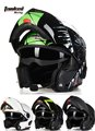 Tanked Estantes T270B capacete da motocicleta com Bluetooth, abrir rosto moto Dual headset intercom Sistema seguro capacetes de motocross