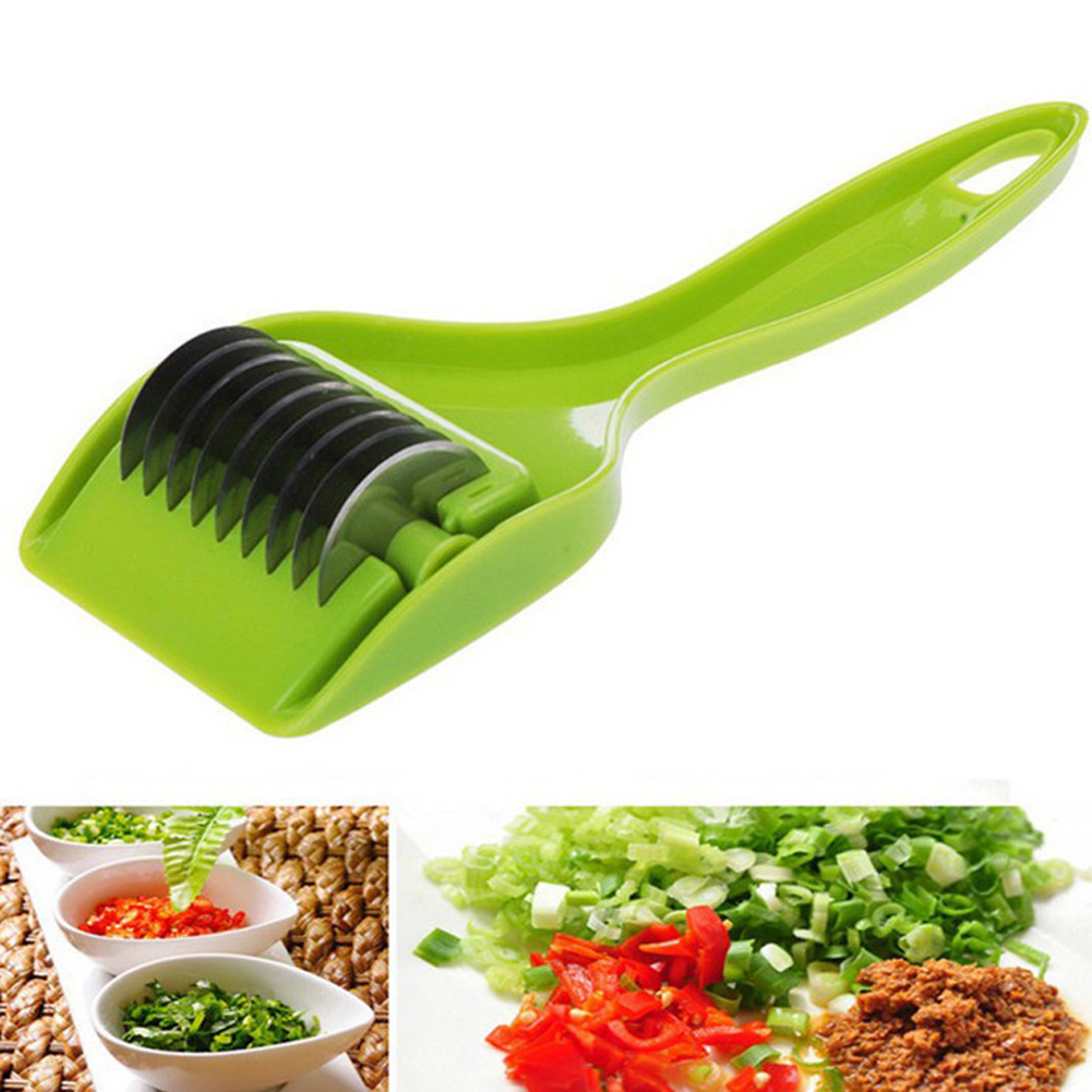 Stainless Steel Green Onion Slicer Vegetable Cutter Garlic Cutter Chopper Shredders & Slicers Food Noodle Maker freeshiping