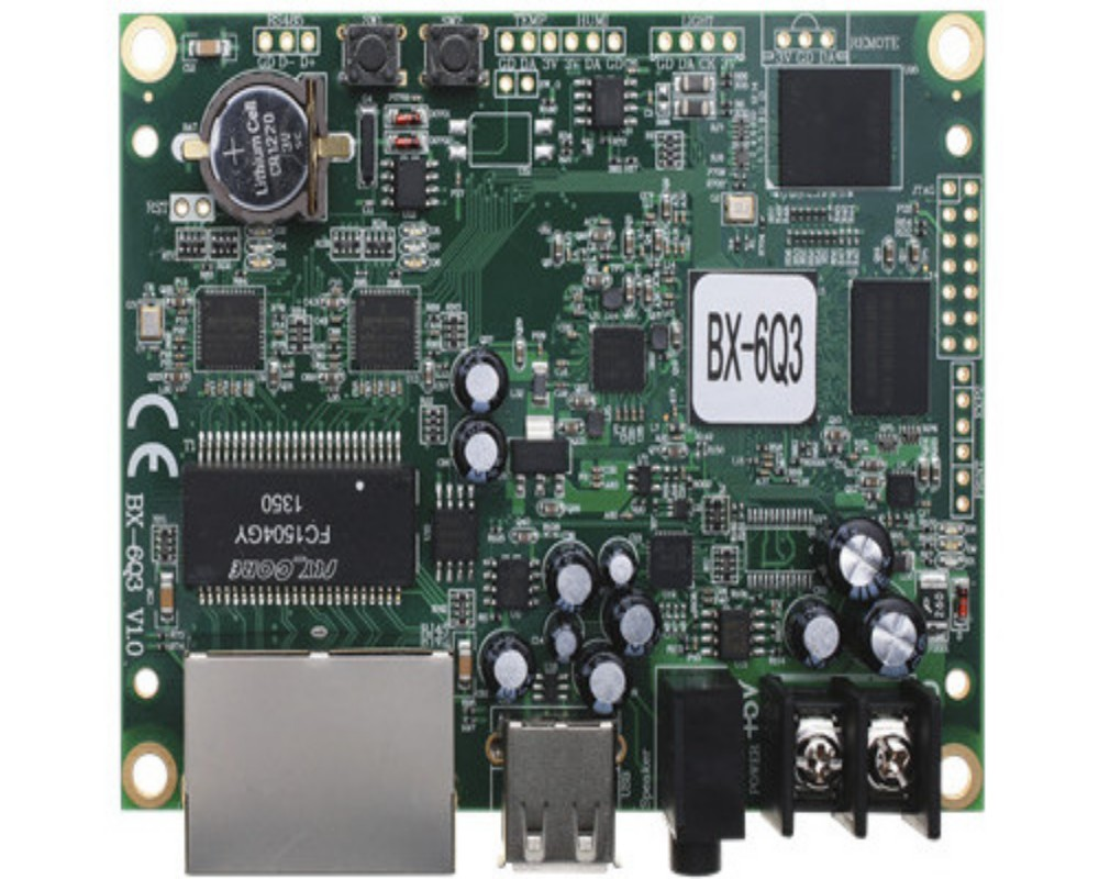Support 100M Ethernet and USB port BX 6Q3 led screen control card