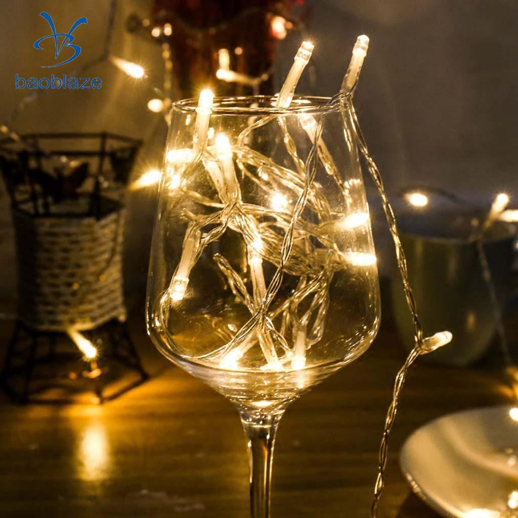LED String Fairy Light Battery Operated Decorative Light 30LEDs Warm White