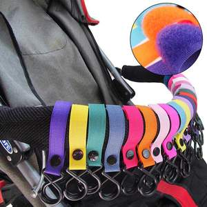 Baby Stroller Accessories Strap Carriage Trolley Hooks