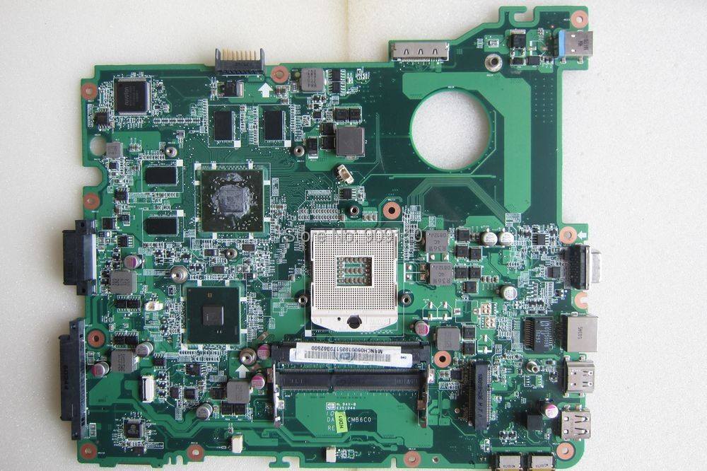 E732 non-integrated motherboard for Acer laptop E732 MBNCH06001 DA0ZRCMB6C0