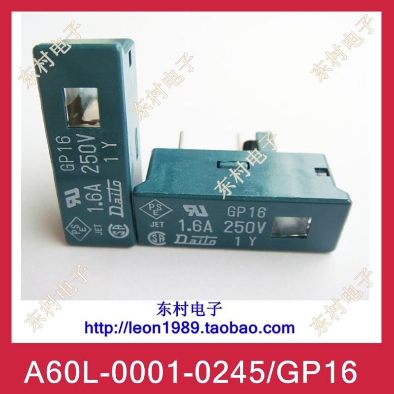 162cf6ca01559f [SA] Il nuovo FANUC FANUC Fuse Fuse A60L-0001-0245/GP16 1.6A  250V--10PCS/LOTTO