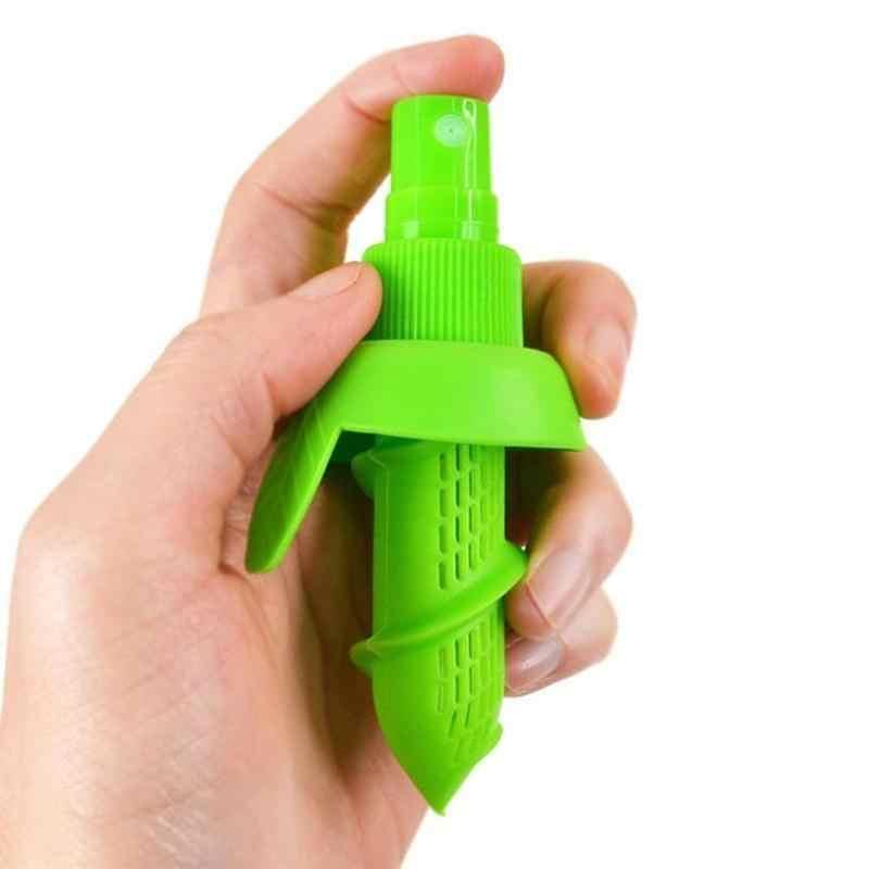 2 Teile/satz Küche Orange Zitrone Sprayer Fruchtsaft Citrus Spray Frische Obst Saft Squeeze Werkzeuge Tragbare Küche Werkzeuge