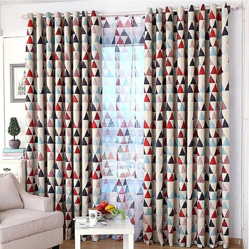 achetez en gros rouge motifs rideaux en ligne des. Black Bedroom Furniture Sets. Home Design Ideas