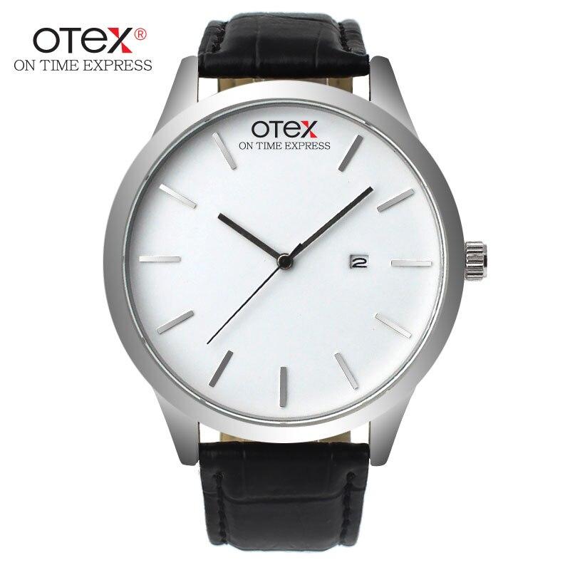 Fashion Watch Men Top brand Luxury Famous 2016 Watches Leather Strap Analog Wristwatch Quartz Watch
