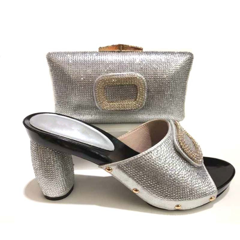 GL-365 New African Shoe and Bag Sets Italian Shoe and Matching Bag for Nigeria Party Wedding Nigerian Shoe and Match bags doershow shoe and bag to match italian african shoe and bag sets women shoe and bag to match for parties african shoe htx1 18