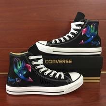 sports shoes 2d8b3 530f3 Sneakers Hommes Femmes Converse All Star Anime Fairy Tail Galaxy Custom Design  Peint À La Main Chaussures Homme Femme Cadeaux De.