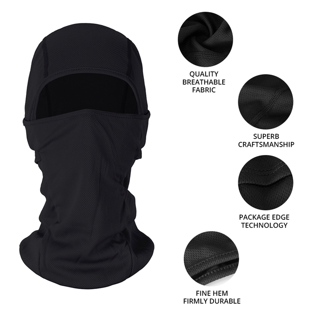 HEROBIKER Motorcycle Face Mask Balaclava Warm Windproof Breathable Cycling Ski Face Shield Airsoft Paintball Helmet Mask Moto 3
