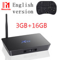 Оригинал X92 2 ГБ/16 ГБ Android 6.0 Smart TV Box Amlogic S912 OCTA Core CPU KD 16.1 Полностью Загружен 5 Г Wi-Fi 4 К H.265 Set Top Box
