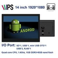 14 بوصة الكل في واحد pc (Android4.4 ، rk3188 ، 1.6 جيجا هرتز ، 1 جيجابايت ddr3 ، 8 جيجابايت nand ، ips 1920*1080 ، bt4.0 ، sd ، usb * 3 ، mineusb * 1 ، rj45 ، lineout)