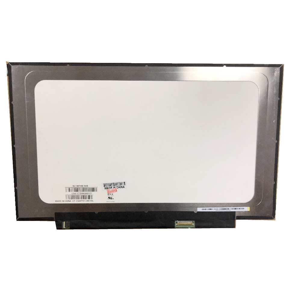 LED LCD NV140FHM-N4B fit NV140FHM-N62 N61 N3B N47 N4C LP140WF7 SPC1 N140HCA-EBA Screen 1920*1080 30 PIN NEW IPSLED LCD NV140FHM-N4B fit NV140FHM-N62 N61 N3B N47 N4C LP140WF7 SPC1 N140HCA-EBA Screen 1920*1080 30 PIN NEW IPS