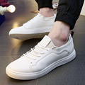 Summer Spring Canvas Shoes Men Breathable Massage Lace Up Shoes Casual White Black Men's Board Shoes SMYXP-F0054