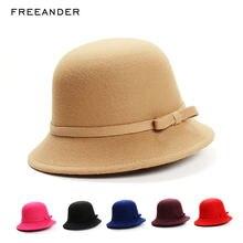 Панама freeander женская желтая шляпа рыбака для девушек модная