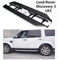 Для Land Rover Discovery 3 LR3 2003-2009 ходовые доски боковые ступенчатые педали высокого качества автомобильные Nerf бары аксессуары для модификации