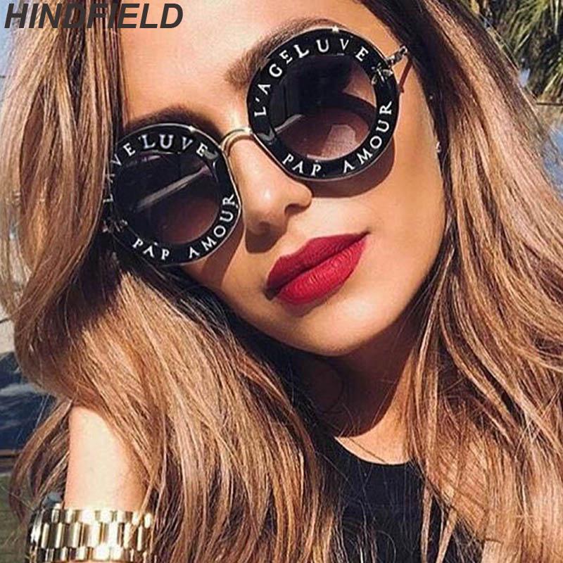 Retro Runde Sonnenbrille Frauen 2018 Luxus Marke Designer Bee Metall Rahmen Kreis Sonnenbrille Mode Weibliche Klar Shades Oculos