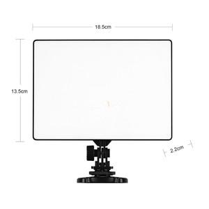 Image 2 - YONGNUO YN300 powietrza 3200 K 5500 K panel światła led wideo z zasilanie prądem zmiennym Adapter na ślub fotografia wideo