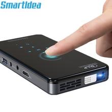 SmartIdea X2 HD портативный DLP проектор Android 7,1 Wifi bluetooth 4,1 Пико Карманный Proyector HD портативный видеопроектор Miracast Airplay
