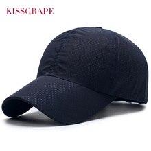 Unisex Men Women's Summer Hats Baseball Caps Breathable Mesh Quick Dry Sport Running Cap Male Bone Snapback Hats Dad Darke Caps darke