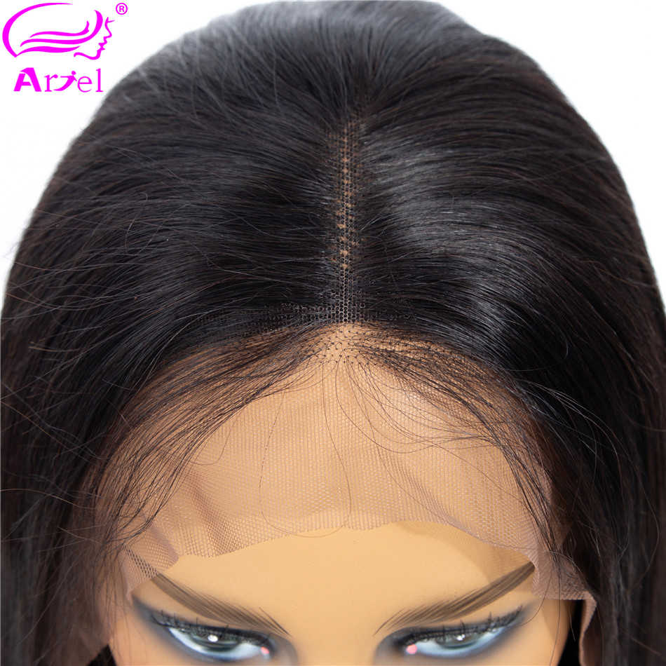 Straight Bob Lace Front Wigs Bob Wig Full End Thick Indian Remy Hair Brown Short Lace Wig Human Hair Wigs For Black Women ARIEL