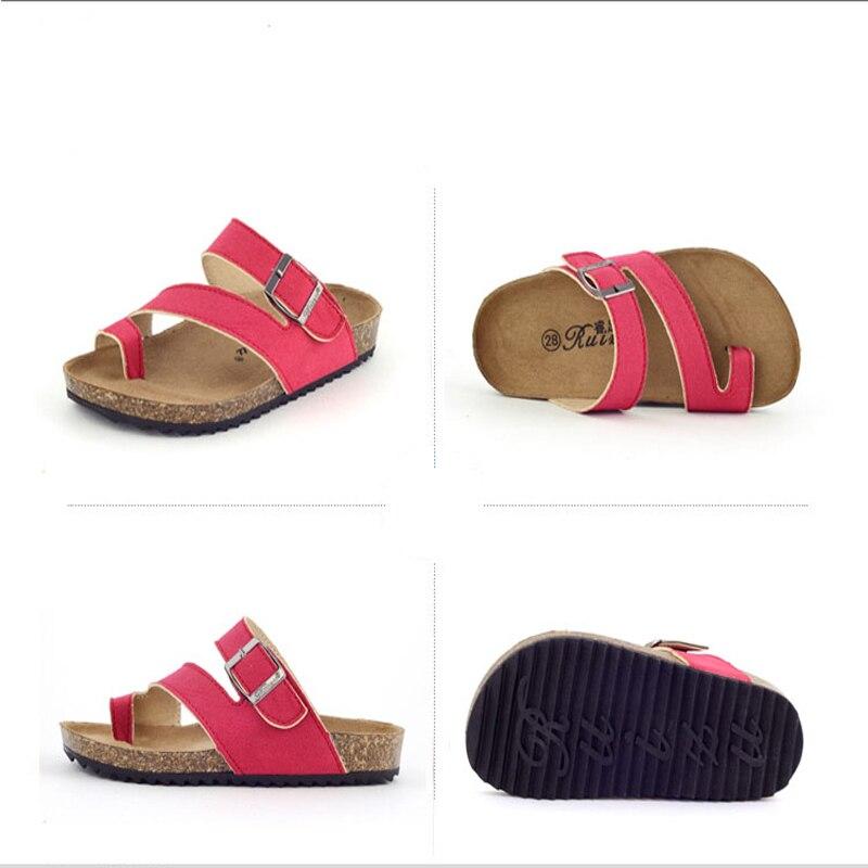 Gladiator Sandalen Sommer Kinder Sandalen Kinder Strand Schuhe Sport Flachen Römischen Sandalen Offene spitze Schuhe Prise Kork Sandalen