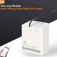 Xiaomi Aqara Two way Module Smart Setting Timer APP Control Zigbee Wireless Controller Multiple Device For Mi Home Home kit