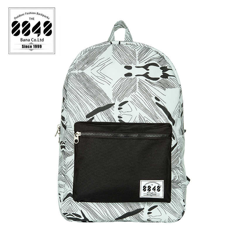 8848 على ظهره للرجال أزياء العلامة التجارية السفر عارضة محمول حزمة العودة النساء الفتيات الطلاب من Unixes الإناث الظهر أكياس C054-12