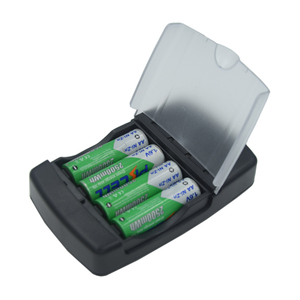 "Image 4 - סוללה מטען עם LED מחוון טעינה מהירה עבור 1.6V AA/AAA AAAA Ni ZN סוללות NI ZN מטען האיחוד האירופי/ארה""ב Plug"