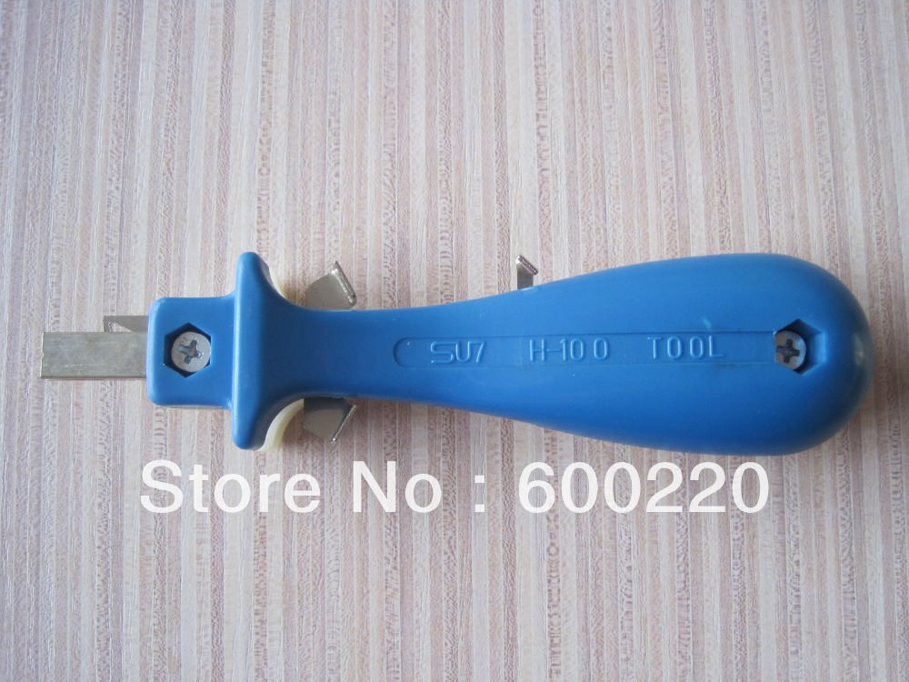 LS-320 insertion tool for seating wire into northern telecom terminal block