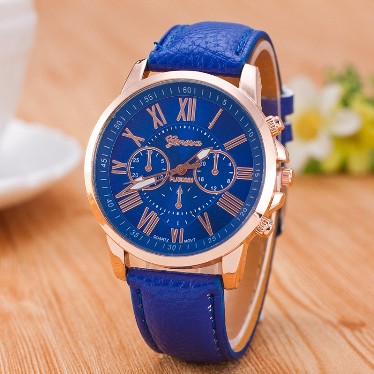 High Quality Roman Number Popular Men Women Top Brand Quartz Clock Watch Leather Watches Relogio Feminino Reloj Mujer Montre Fem