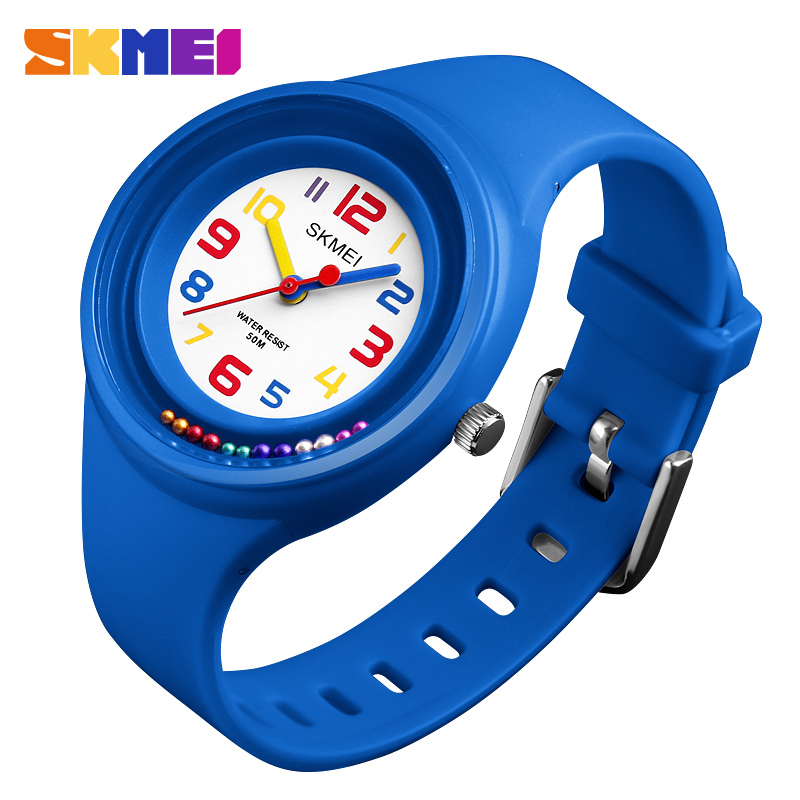 Kids Watches For Boys And Girls Student Quartz Watch Waterproof Sports Wristwatch Clock Relojes Top Luxury Brand SKMEI 2018