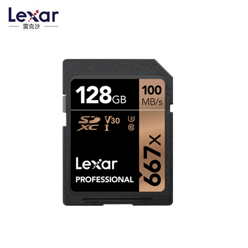 Lexar Original SD Card 64GB 128GB SDXC U3 V30 256GB Class10 Memory Card C10 R100mb/s USH-1 Support For Camera