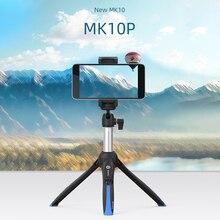 Benro MK10 II Combo Portatile Treppiede Selfie Stick per il iphone XS MAX X 8 Samsung Huawei P30 DJI OSMO Tasca macchina fotografica