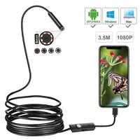 1080 p Volle HD Mini Android Endoskop Kamera IP67 1920*1080 1 mt 2 mt 3,5 mt 5 mt micro USB Inspektion Video Kamera Schlange Endoskop Rohr