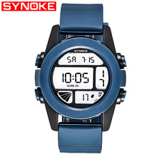 SYNOKE New Student Couple Relogio Watch Stylish Spire Glass Belt Quartz Mens Watches Womens For Boys Girl