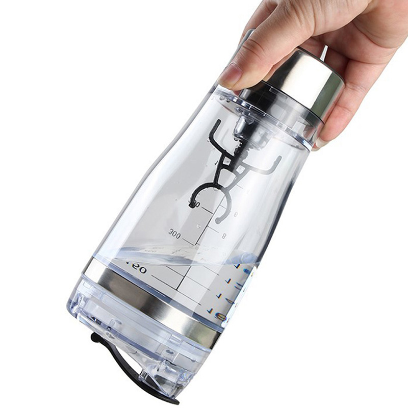 Mini USB 450ml Electric Automatic Protein Shaker Portable Movement Mixing Mixer Vortex Tornado BPA Free My Water Bottle in Shaker Bottles from Home Garden