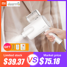 Xiaomi Deerma DEM-HS006 Foldable Handheld Garment Steamer Steam Iron Household Portable Small Clothes Wrinkle Sterilization electric iron portable handheld steam travel foldable irons steam temperature control dual voltage 700w 220v household
