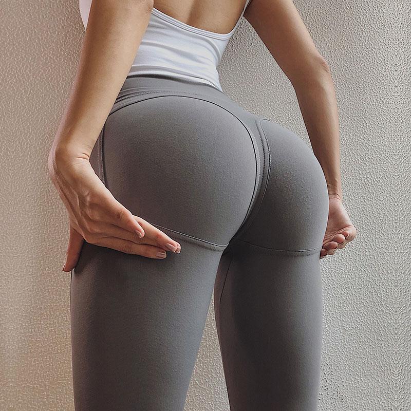 Sexy yoga pants ass
