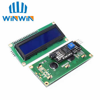 10pcs LCD1602+I2C LCD 1602 module Blue /yellow green screen IIC/I2C LCD1602 IIC LCD1602 Adapter plate - DISCOUNT ITEM  19% OFF All Category