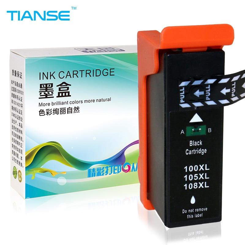 8PK 100XL//105XL//108XL Ink Cartridge for Lexmark Interact S301 S408 S605 Pro708 Pro901
