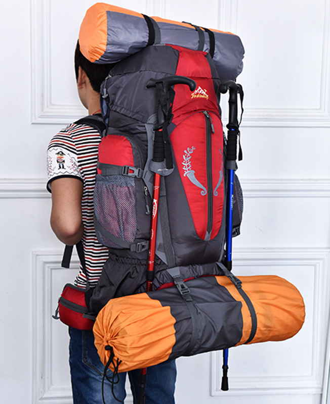 HUWAIJIANFENG 85L sac à dos extérieur voyage Camping escalade sacs à dos randonnée grande capacité sacs à dos camping sacs de sport nouveau