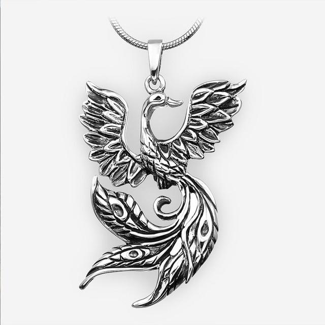 50pcs viking vintage firebird pendant phoenix fire bird necklace 50pcs viking vintage firebird pendant phoenix fire bird necklace amulet jewelry for women men aloadofball Gallery