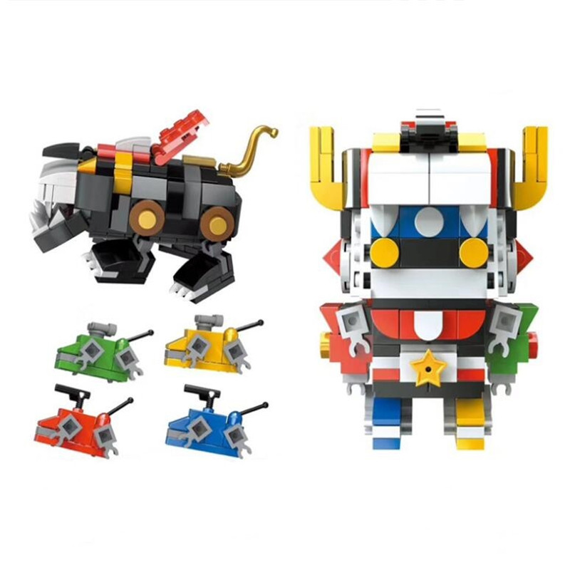 Mini Voltron Super Robot Defender of the Universe Building Blocks Kit Bricks Sets Classic Movie Model Kids Toys With Legoinglys Mini Voltron Super Robot Defender of the Universe Building Blocks Kit Bricks Sets Classic Movie Model Kids Toys With Legoinglys