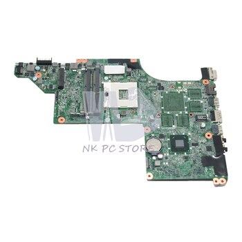 NOKOTION For HP Pavilion DV6 DV6-4000 Laptop Motherboard 633555-001 DA0LX3MB8F0 MAIN BOARD HM65 UMA DDR3