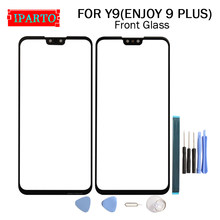 For Huawei Y9 (enjoy 9 plus) Front Glass Screen Lens 100% New Front Touch Screen Glass Outer Lens for Y9 (enjoy 9 plus) +Tools(China)