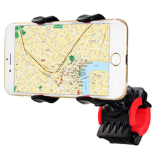 Universal 360 Degrees Rotating Motorcycle Bicycle Bike Phone Holder Handlebar Clip Stand Cellphone Bracket Mount for GPS Iphone