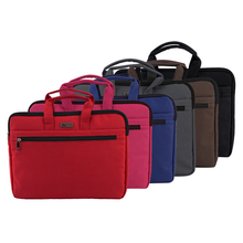 Hand-held Oxford Document Bag A4 Briefcase for Men and Women Office Canvas Waterproof Conference Leisure Fashion Files Folder