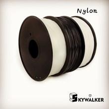 3 colores nylon filamento 3d filamento impresora 3d material de 1.75mm 3mm 3d filamento filamento de nylon PA