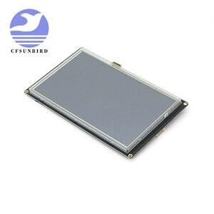 """Image 3 - NX8048K050 5.0 """"Nextion تعزيز HMI الذكية الذكية USART UART المسلسل اللمس TFT وحدة عرض LCD لوحة لمجموعة التوت بي"""